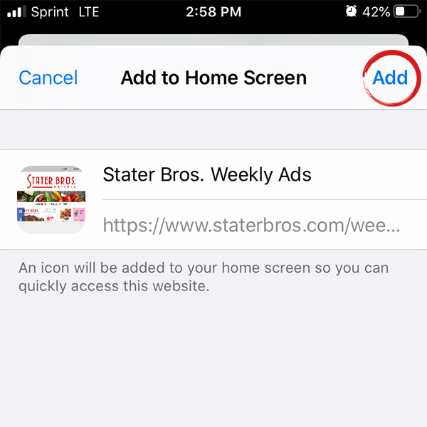 Save A Shortcut To The Weekly Ad Stater Bros Markets